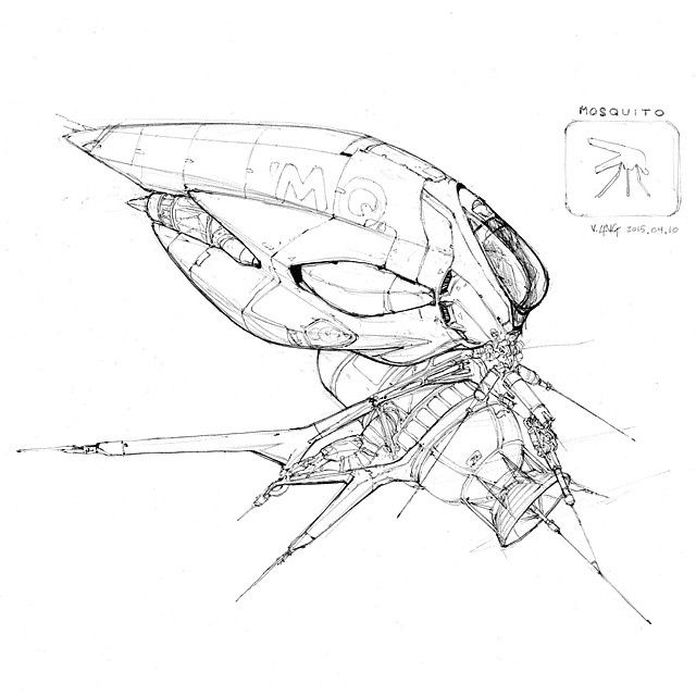 640x640 36 Best Vaughan Ling Drawings Images On Space Ship