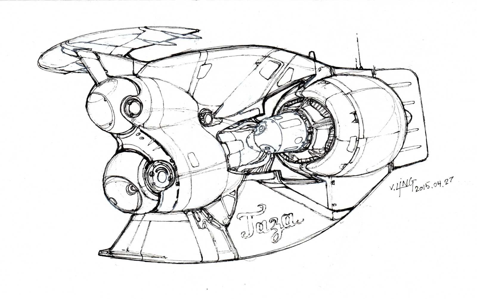 1600x1004 Spaceship Sketches Heavypoly Drawing, Engraving, Etching