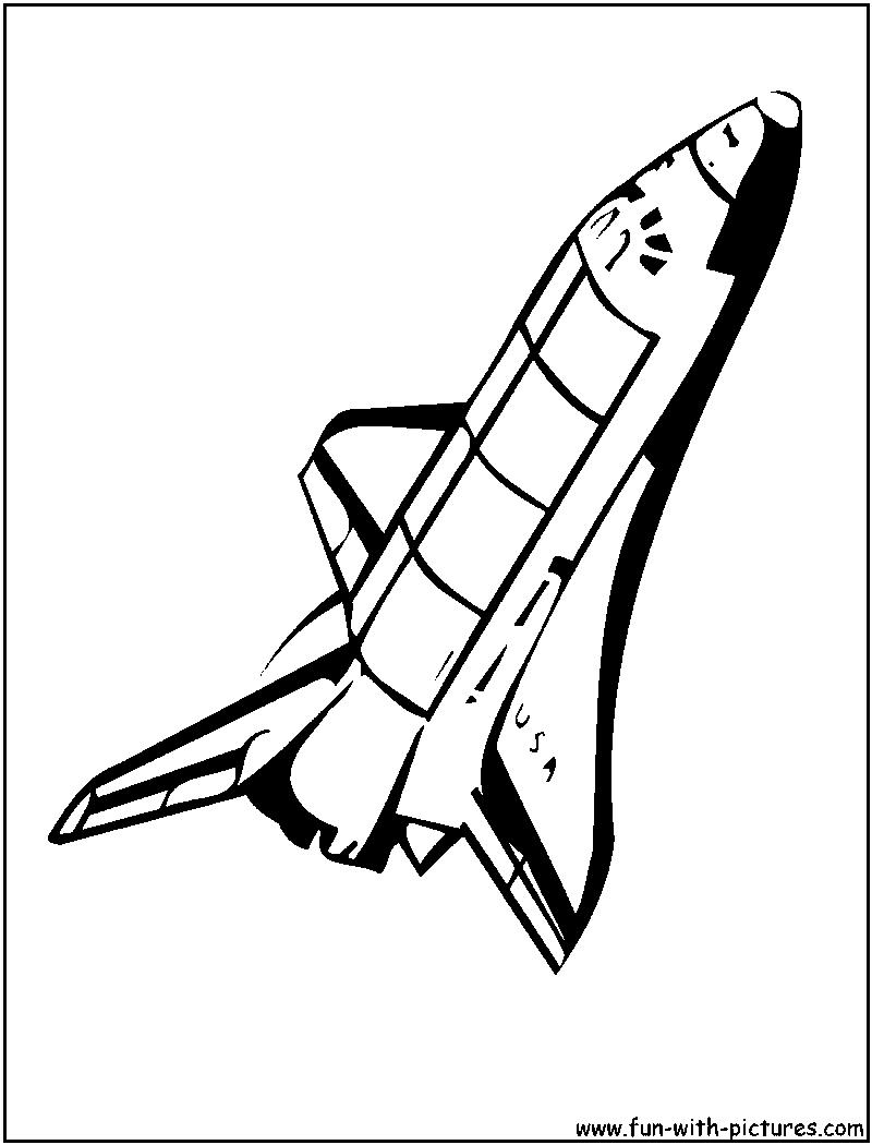 800x1050 Nasa Spaceship Clipart