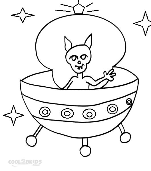 529x600 Printable Spaceship Coloring Pages For Kids Cool2bkids