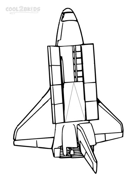 450x600 Spaceship Coloring Pages Free Cool2bkids