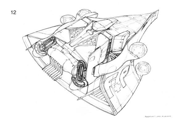 600x400 Spaceship Sketches Heavypoly