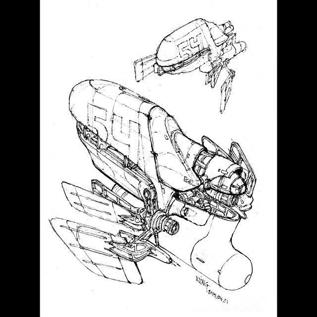 640x640 Spaceship