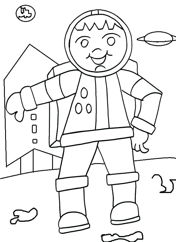 618x850 Astronaut Coloring Free Coloring Pages Of Drawing Astronaut