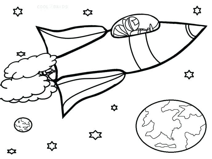 689x517 Free Printable Rocket Ship Coloring Pages Pin Drawn Spaceship Page