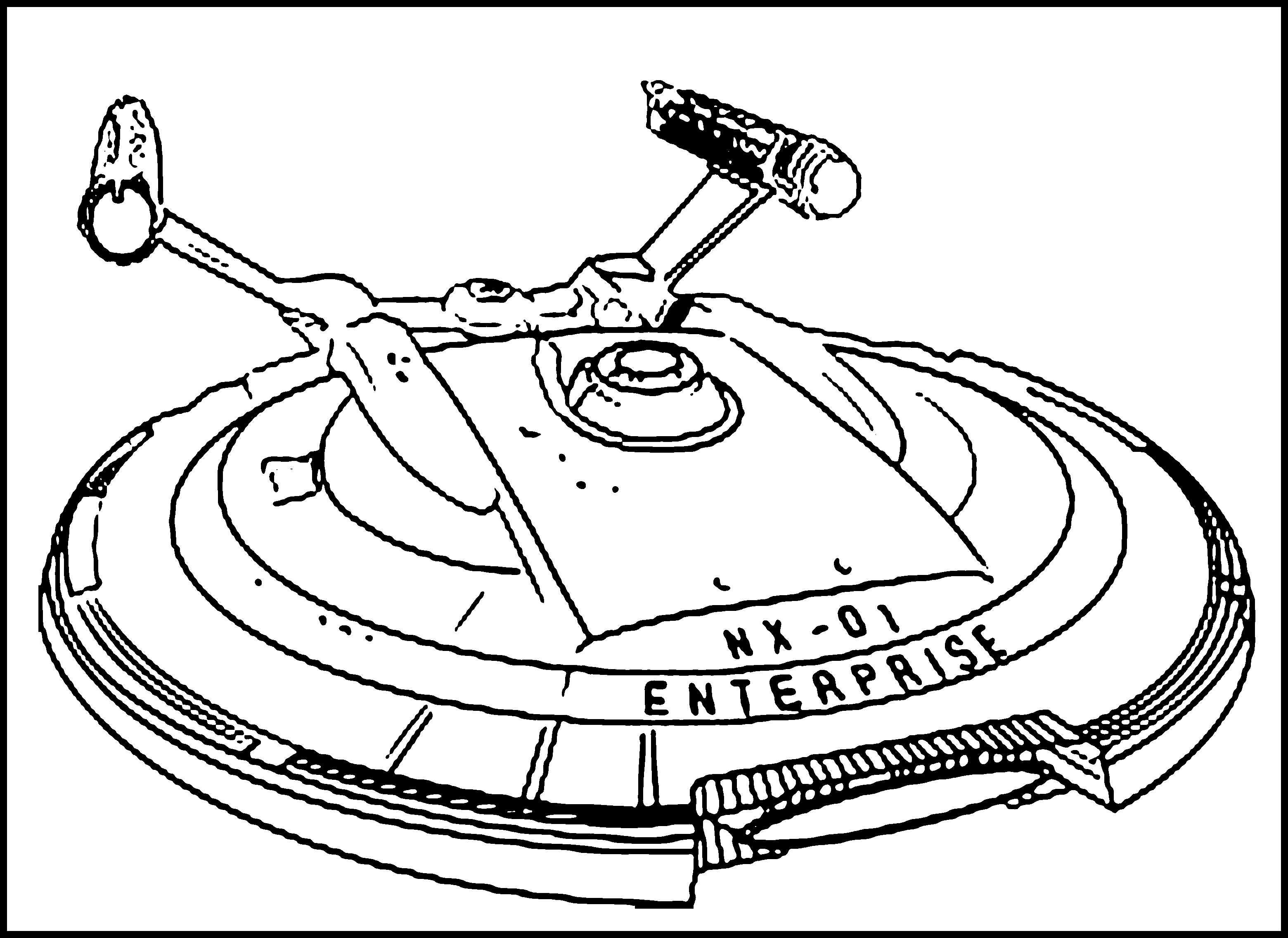 3120x2271 Strange Rocket Spacecraft Coloring Pages For Kids