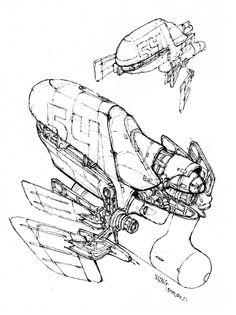 Spaceship Drawing Pictures