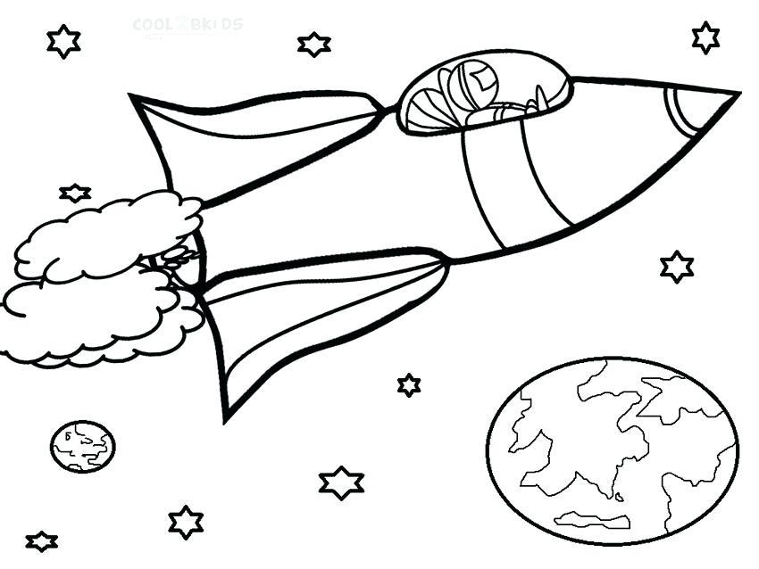 850x638 New Rocket Ship Coloring Page Print Spaceship Transportation