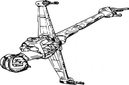 425x278 Spaceship Clipart Starwars