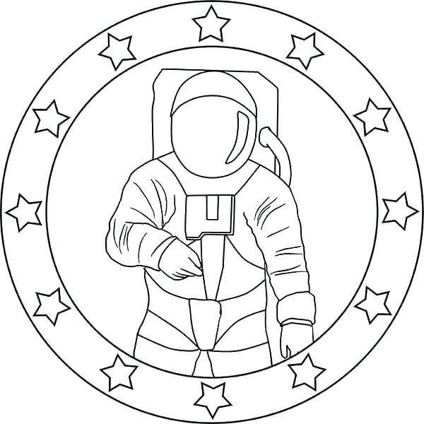 600x600 Astronaut Coloring Free Coloring Pages Of Drawing Astronaut