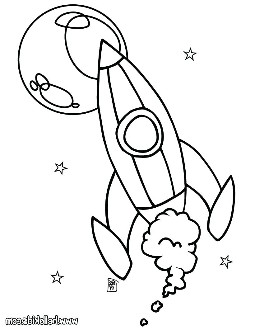 820x1060 Coloring Space Ship Coloring Page