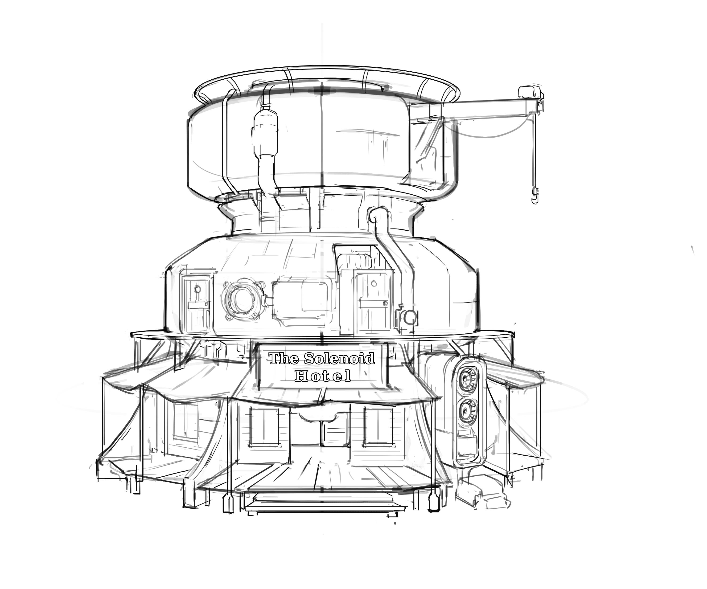 3000x2500 Spaceships Zachary Madere