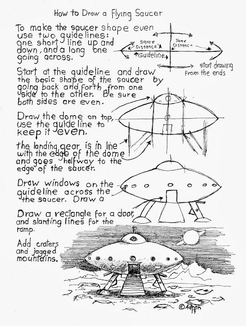 482x640 How To Draw Worksheets For The Young Artist Spaceships Easy
