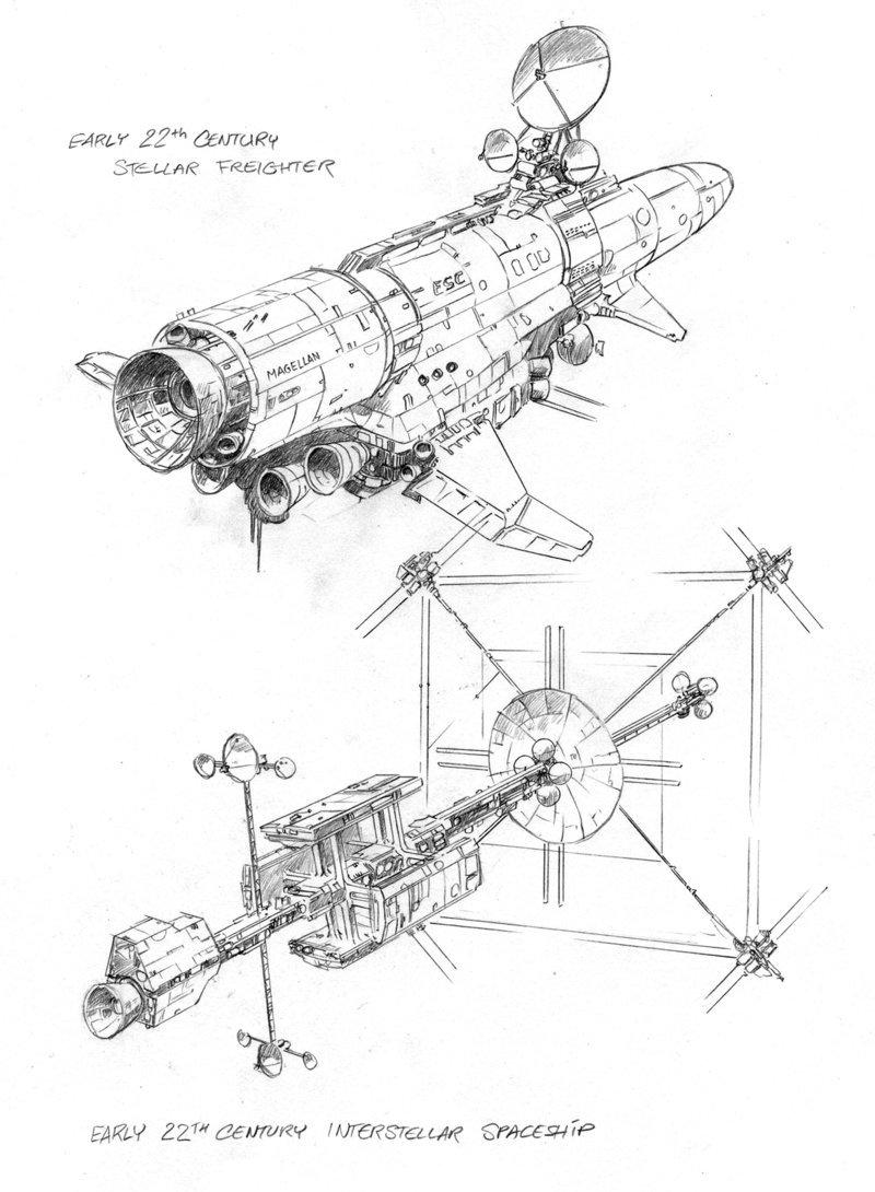 800x1090 Primitive Spaceships By Hardbodies
