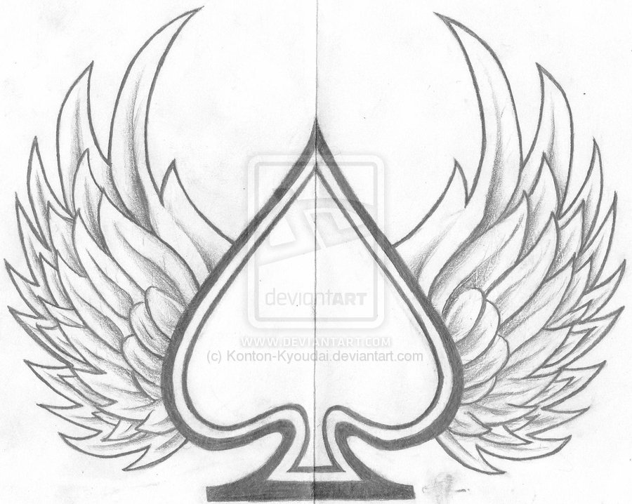900x718 ace of spades design by konton kyoudai cool tattoos pinterest