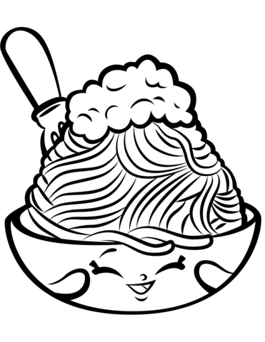 371x480 netti spaghetti shopkin coloring page free printable coloring pages