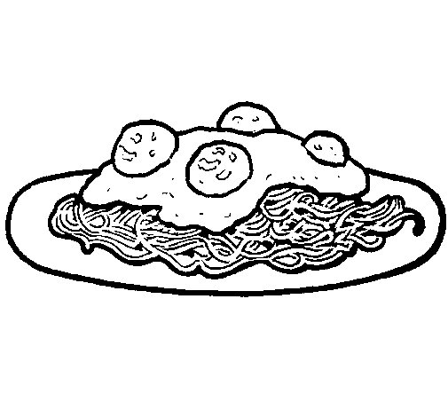 505x470 pasta coloring pages
