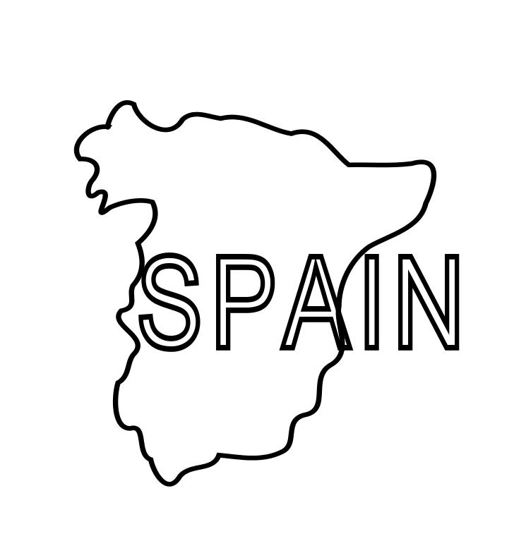 Spain Map Coloring Page.Spain Map Drawing At Getdrawings Com Free For Personal Use Spain