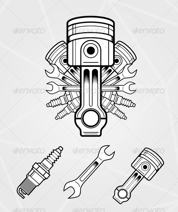 The Best Free Engine Drawing Images Download From 1373 Free