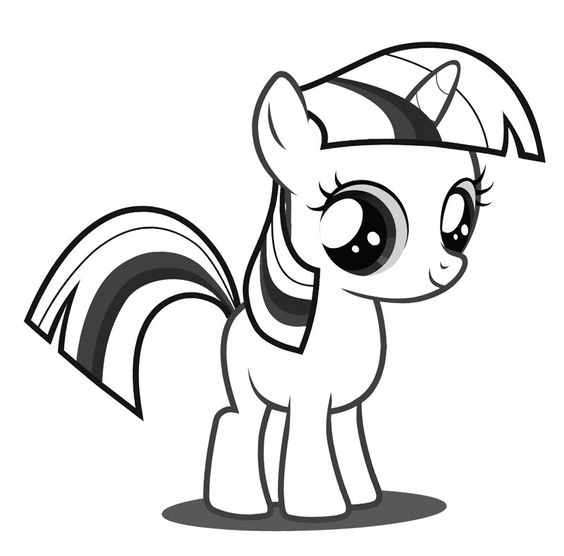 564x556 Baby Pony Coloring Pages My Little Pony Coloring Pages Twilight