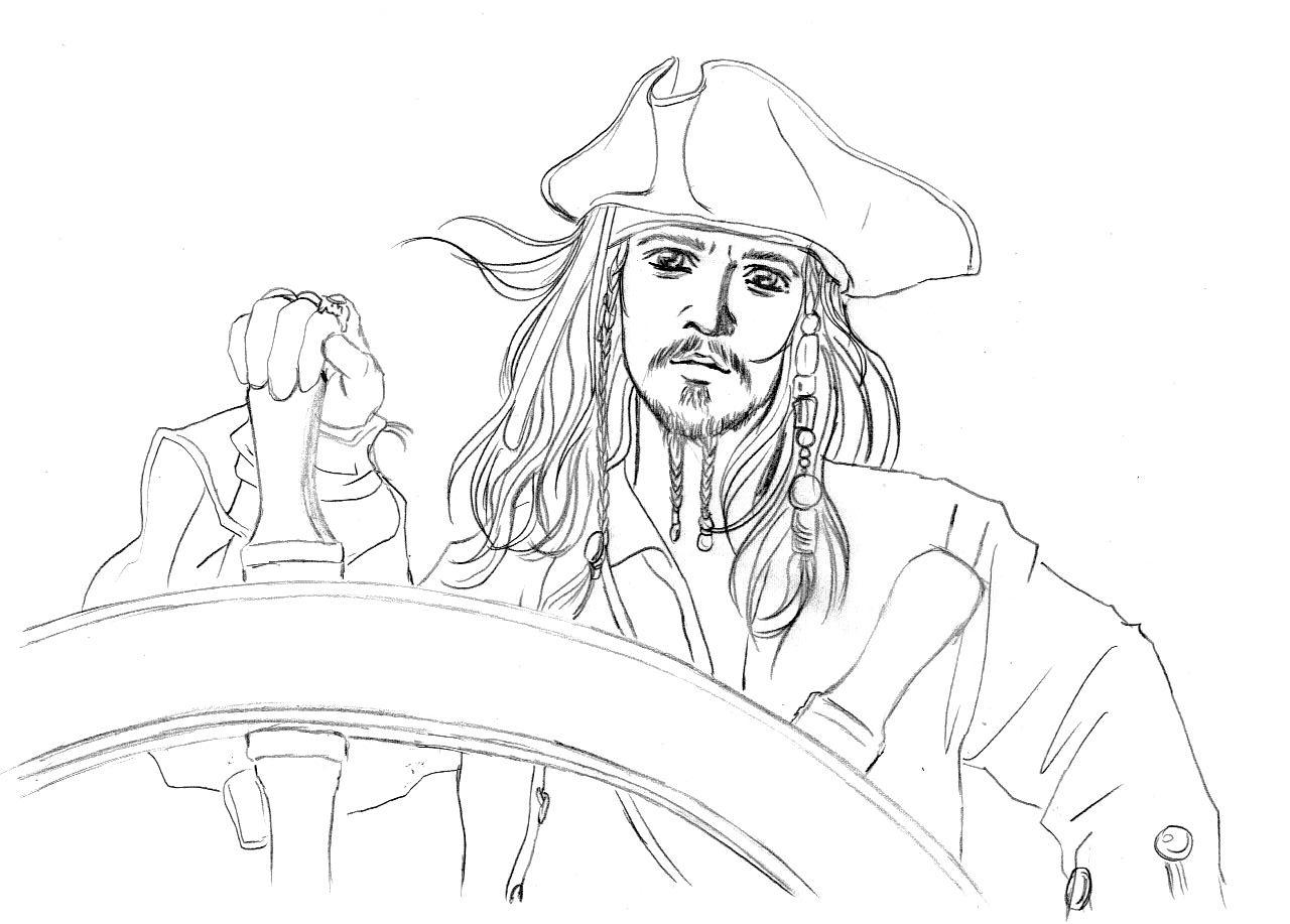 1280x917 Jack Sparrow By Neldorwen