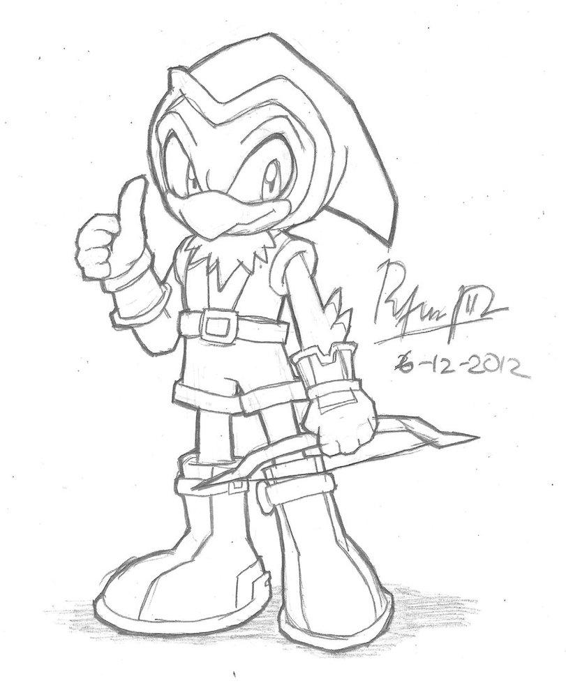 811x986 Bow Sparrow Sketch By Riodile
