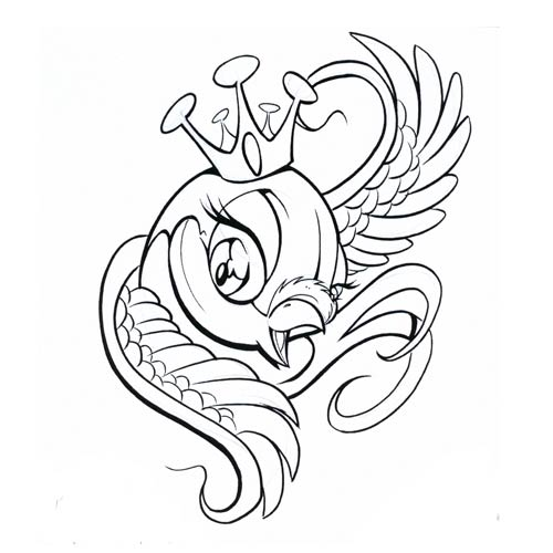 500x500 Birds Tattoos For You Pictures Of Cartoon Bird Tattoos