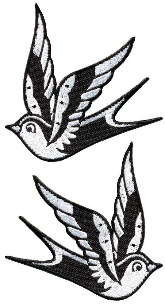 538x1000 Drawn Swallow