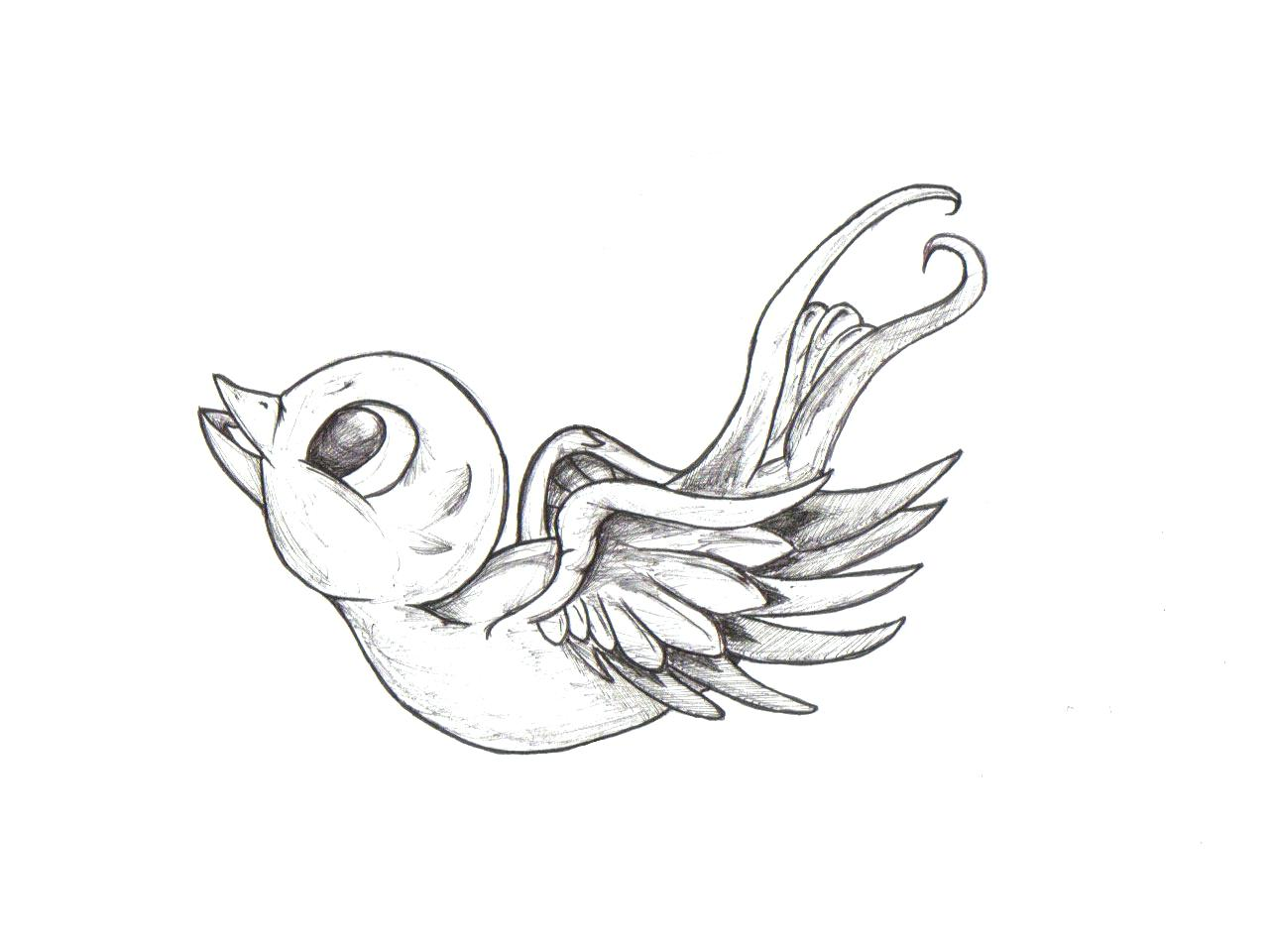 1280x960 Easy On The Eye Sparrow Tattoo Design Designs Meaning Swallow Neck