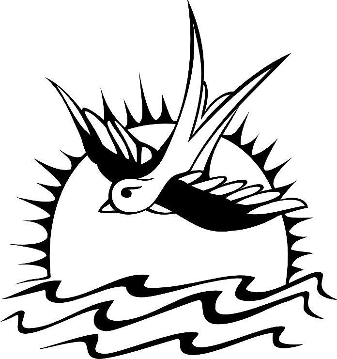 696x741 Jack Sparrow's Tattoo By Eleni E Redbubble