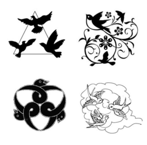 581x576 Sparrow Tattoo Outline All Bird Ideas