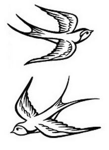 220x302 Tattoo Art Drawings Tribal Sparrow Tattoo Drawings Bird Tattoo