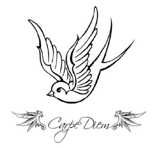 600x569 Swallow Tattoo Designs
