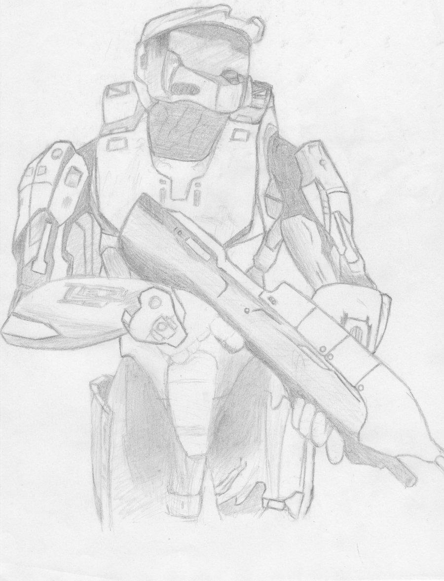 900x1178 Halo Spartan By Dark Tado