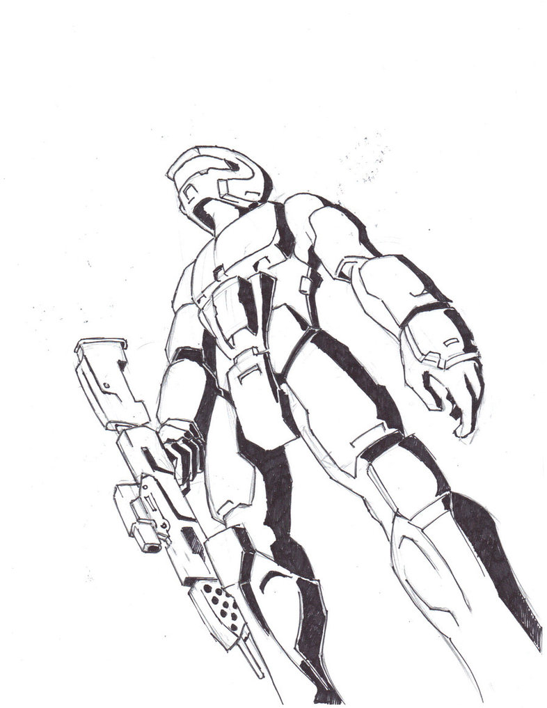 786x1017 Halo Spartan By Alphalifeform