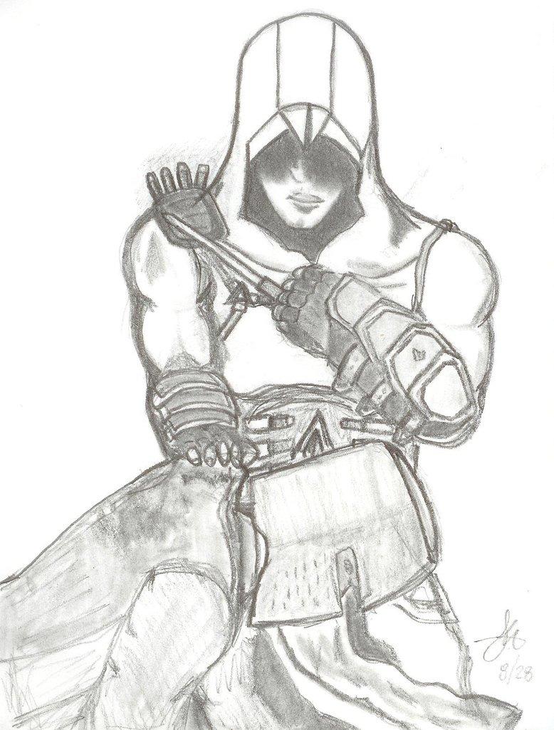 778x1026 Altair Assassinating Templar By Spartan 1uan17
