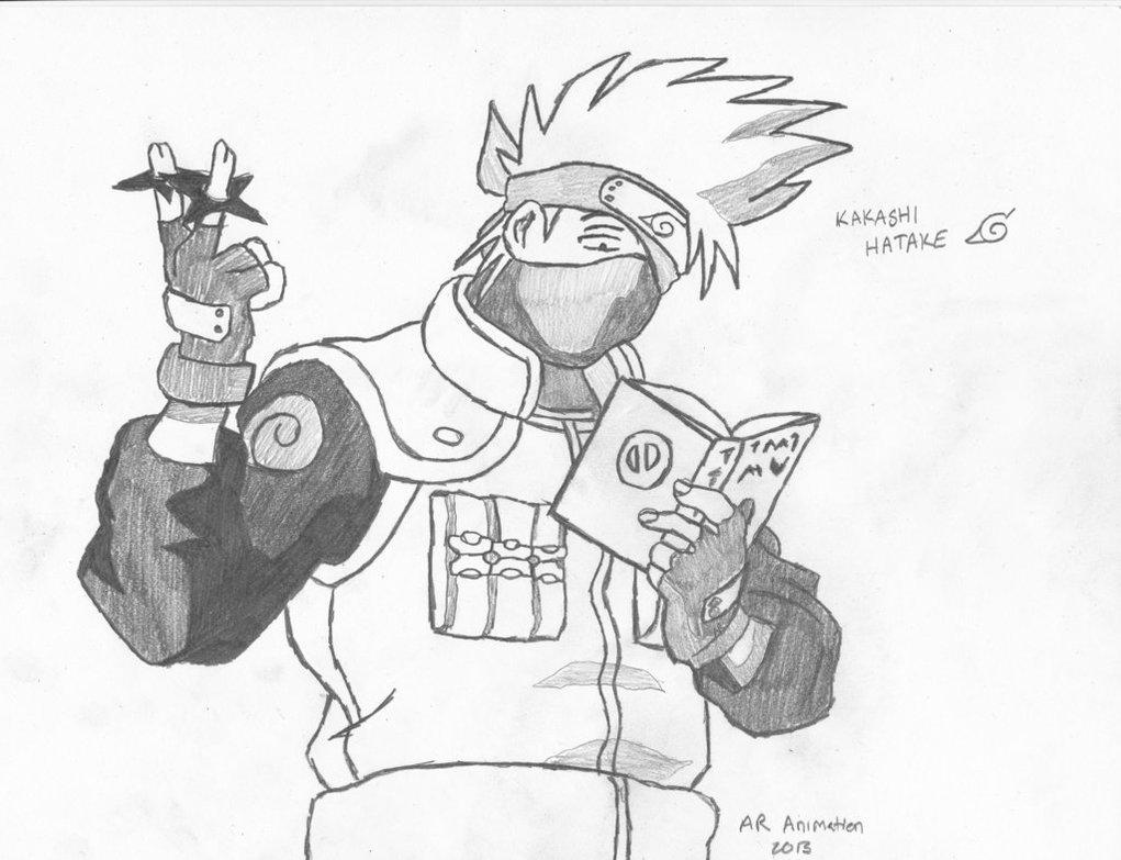 1021x783 Naruto Kakashi Hatake By Ascended Spartan