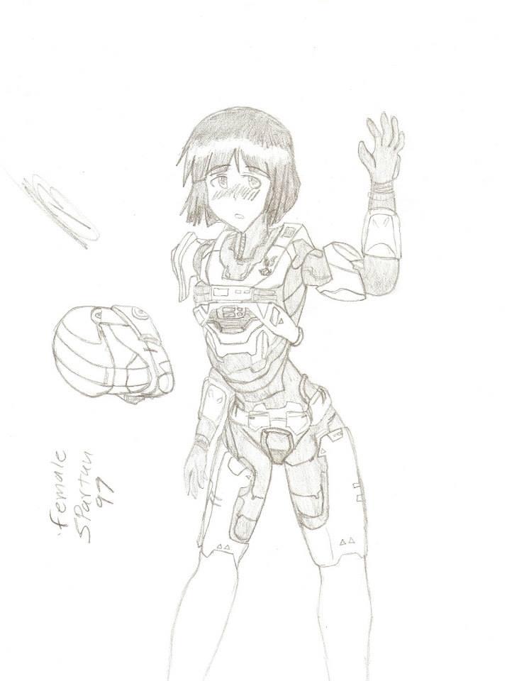 715x960 Spartan Anime Girl By Tato Kun92