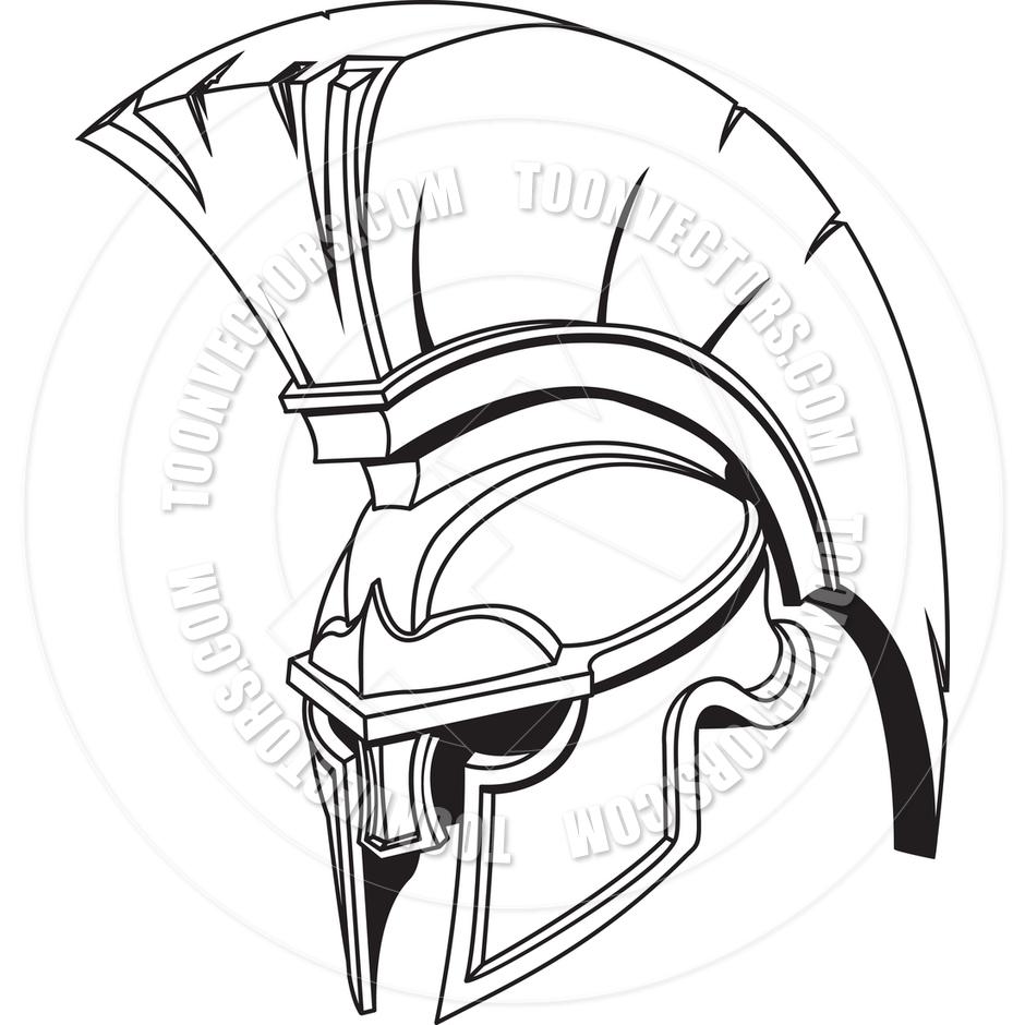 940x940 Spartan Helmet Drawing Drawn Warrior Spartan Helmet