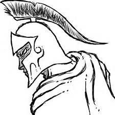 225x225 Spartan Warrior Drawings Simple Toms Drawings Amp Art
