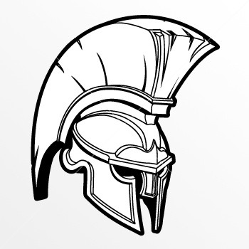 Spartan Helmet Drawing At Getdrawings Com Free For
