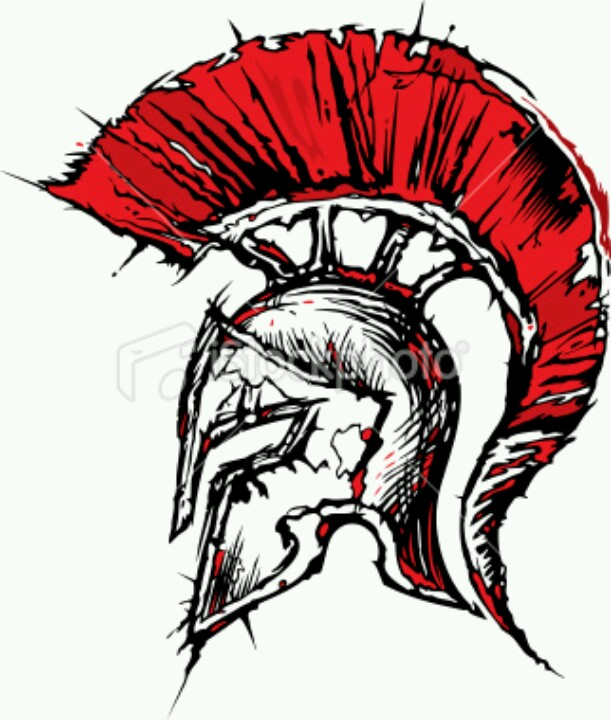 611x720 Spartan Helmet