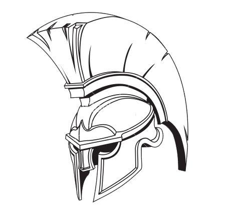 477x445 Spartan Helmet Spartan Helmet, Tattoo And Tattos