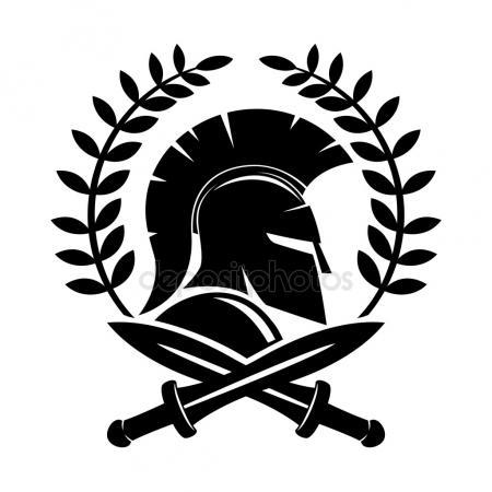450x450 Spartan Helmet Stock Vectors, Royalty Free Spartan Helmet