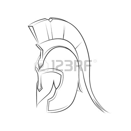450x450 Symbol Of Strength And Sport Gladiator Gladiator Helmet In Golden