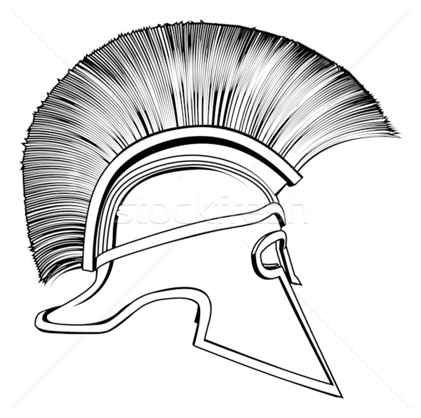 Spartan Helmet Drawing At Getdrawings Com Free For Personal Use