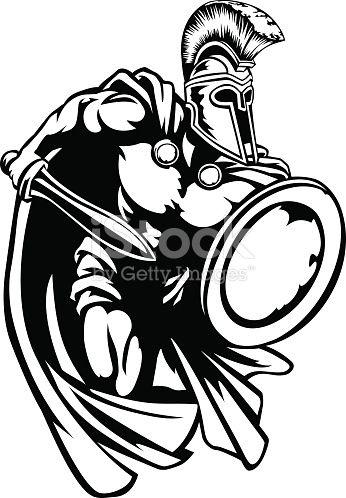 346x498 Spartan, Roman Or Trojan Gladiator Ancient Greek Warrior