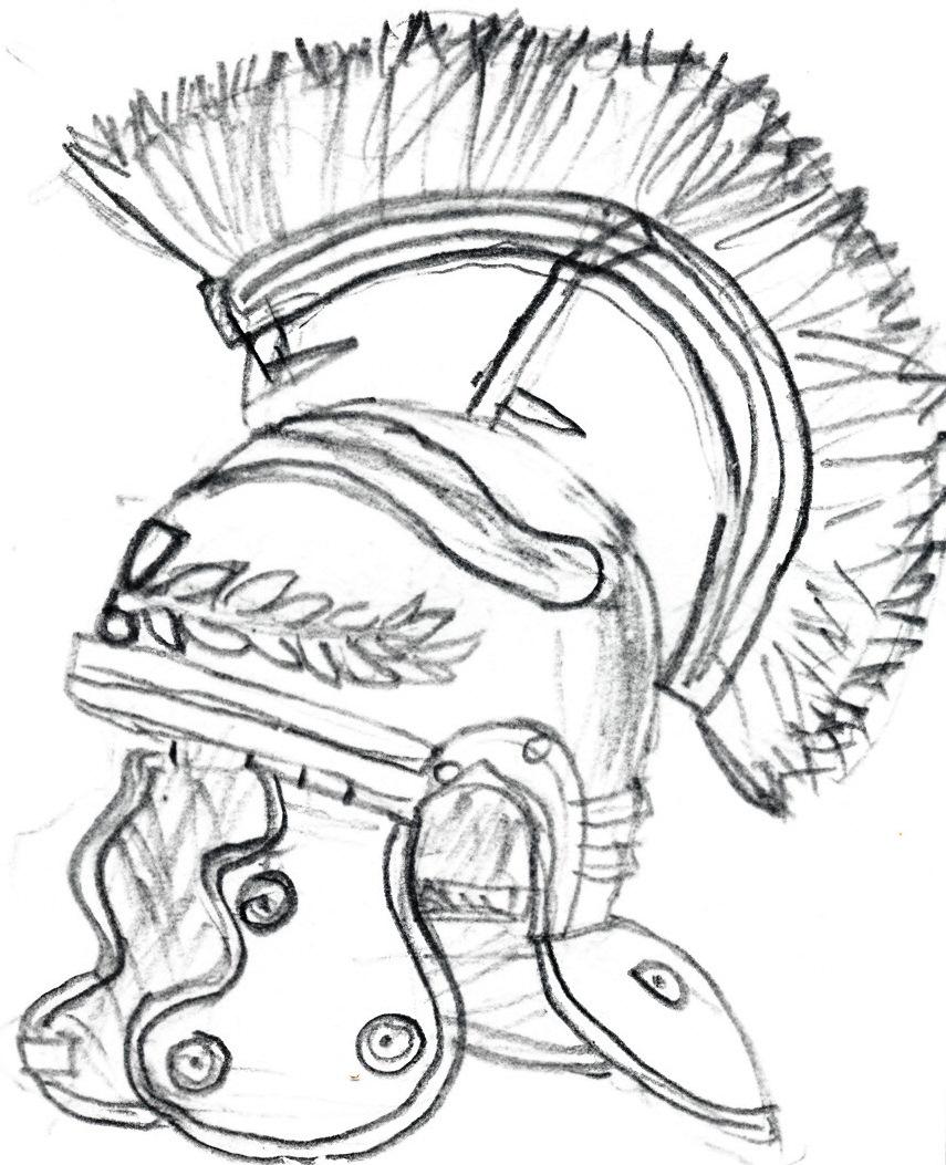 855x1053 Spartan Helmet And Shield Drawing