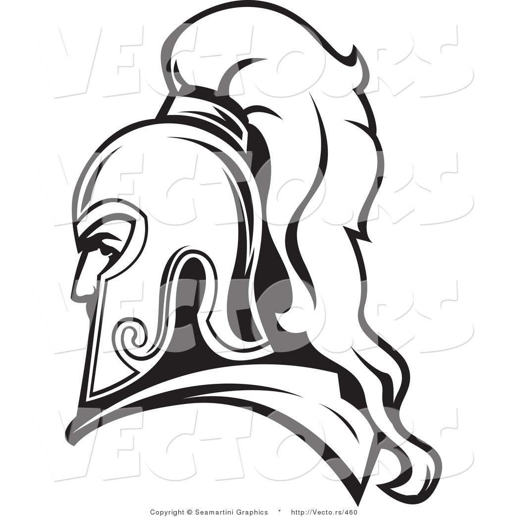 1024x1044 Vector Of A Roman Soldier Line Drawing Avatar By Vector Tradition