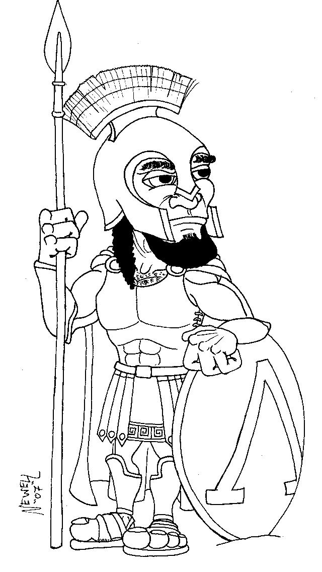 640x1136 Spartan Warrior By Cathto